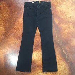 Pilcro and the letter press 32 L Stet black jeans